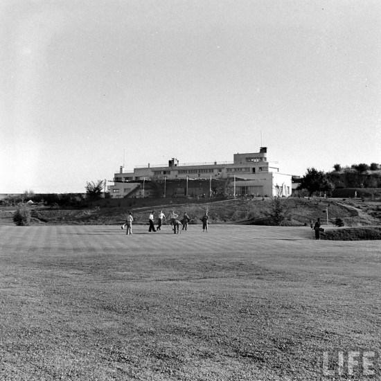 Enterreno - Fotos históricas de chile - fotos antiguas de Chile - Club de Golf Los Leones 1941