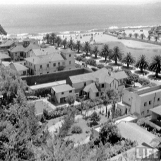 Enterreno - Fotos históricas de chile - fotos antiguas de Chile - Desembocadura del Estero Marga Marga en el año 1941.