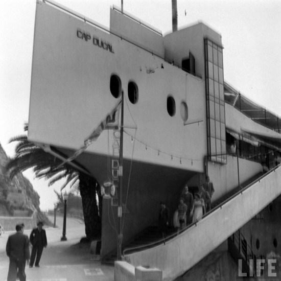 Enterreno - Fotos históricas de chile - fotos antiguas de Chile - Cap Ducal en el año 1941.