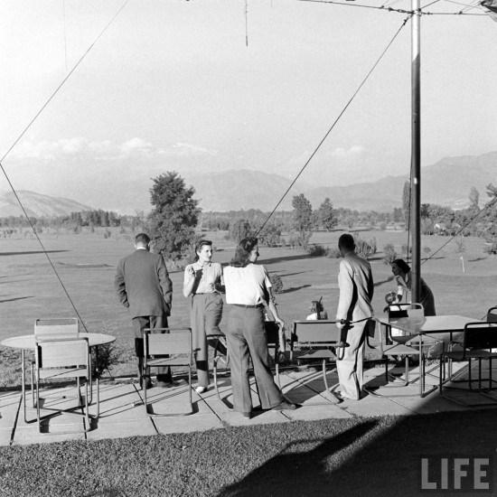 Enterreno - Fotos históricas de chile - fotos antiguas de Chile - Club de Golf Los Leones en el año 1941.
