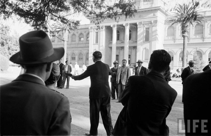 Enterreno - Fotos históricas de chile - fotos antiguas de Chile - Parque Quinta Normal en el año 1950