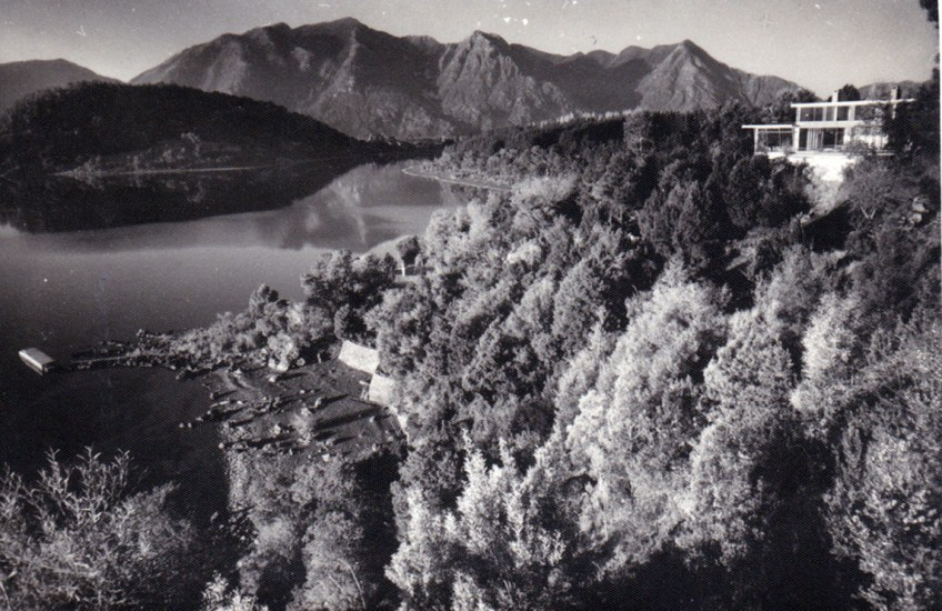 Enterreno - Fotos históricas de chile - fotos antiguas de Chile - Lago Villarrica y Pucón, ca.1950