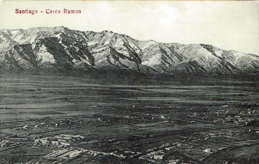Enterreno - Fotos históricas de chile - fotos antiguas de Chile - Vista de Santiago, sector Providencia a principios de Siglo XX.