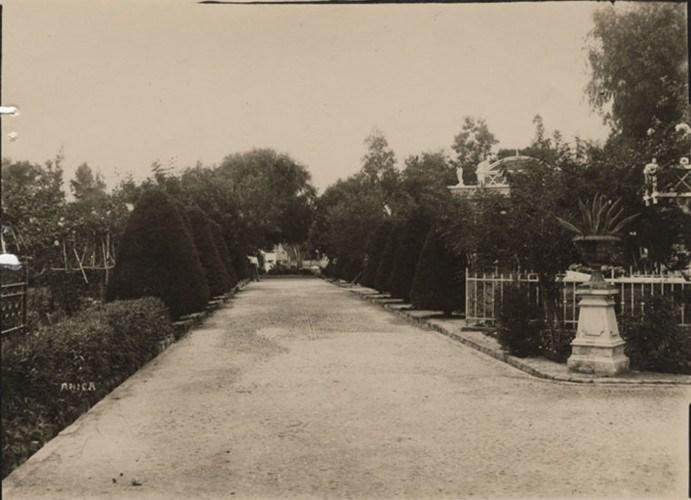 Enterreno - Fotos históricas de chile - fotos antiguas de Chile - Cementerio General de Arica en 1928