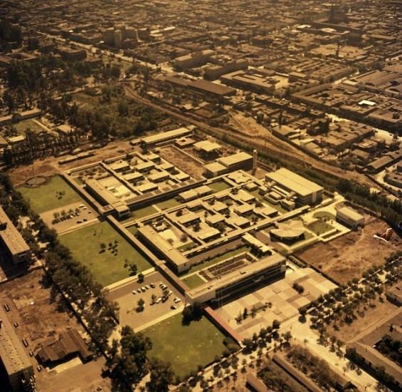 Enterreno - Fotos históricas de chile - fotos antiguas de Chile - Universidad Técnica del Estado en 1963