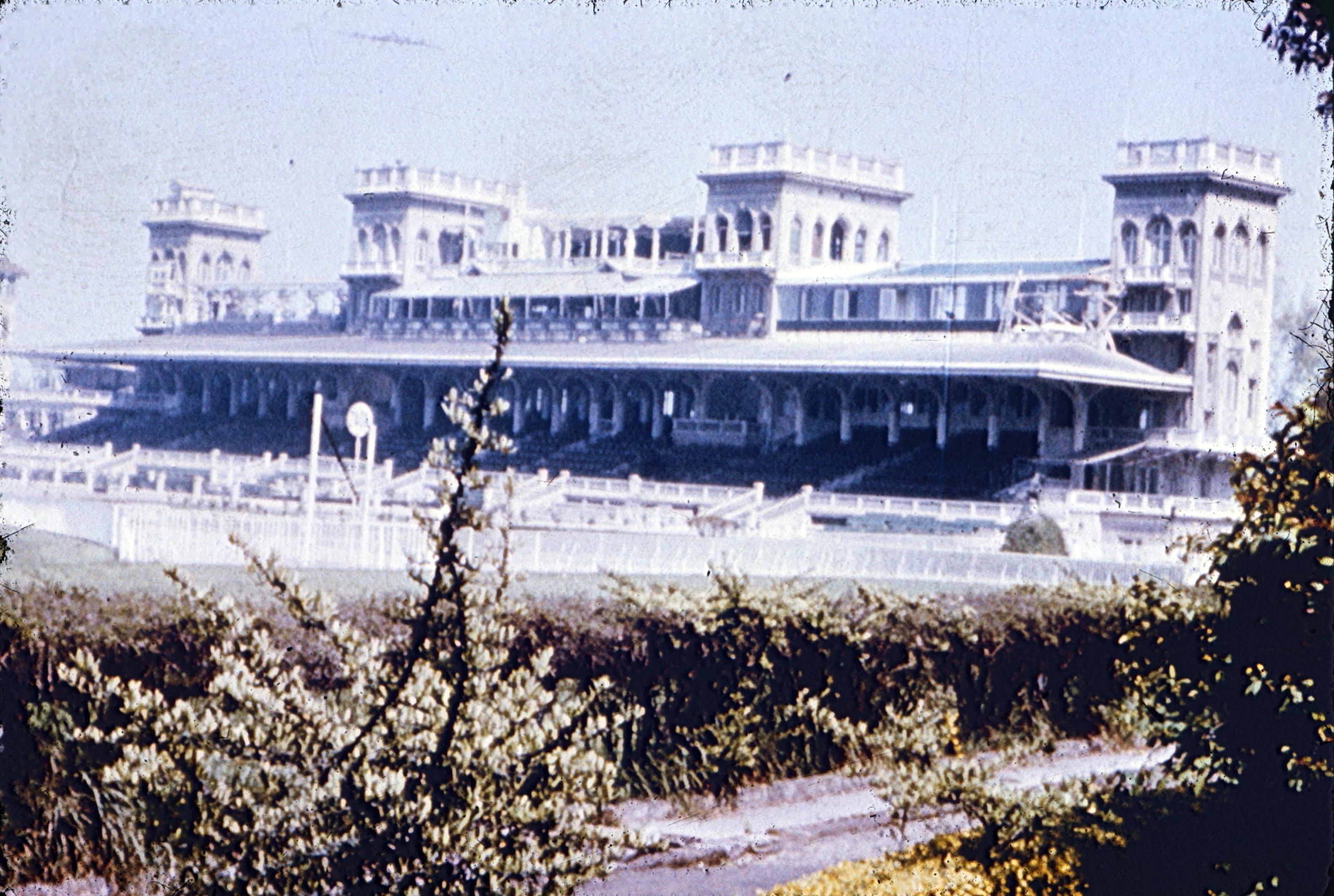 Enterreno - Fotos históricas de chile - fotos antiguas de Chile - Club Hípico de Santiago, años 60s