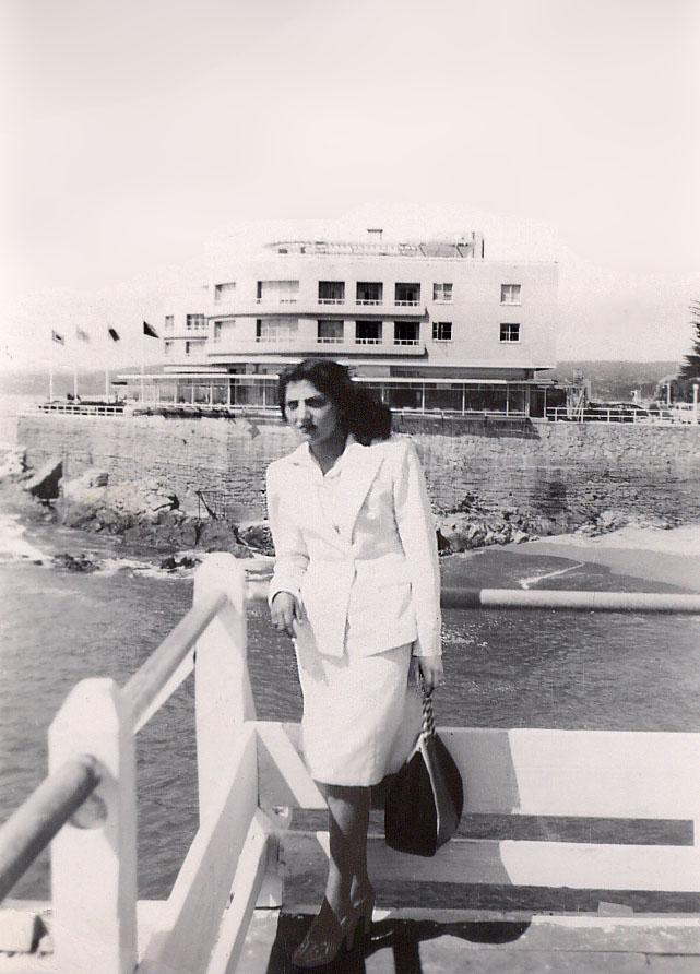 Enterreno - Fotos históricas de chile - fotos antiguas de Chile - Hotel Miramar en los años 40s