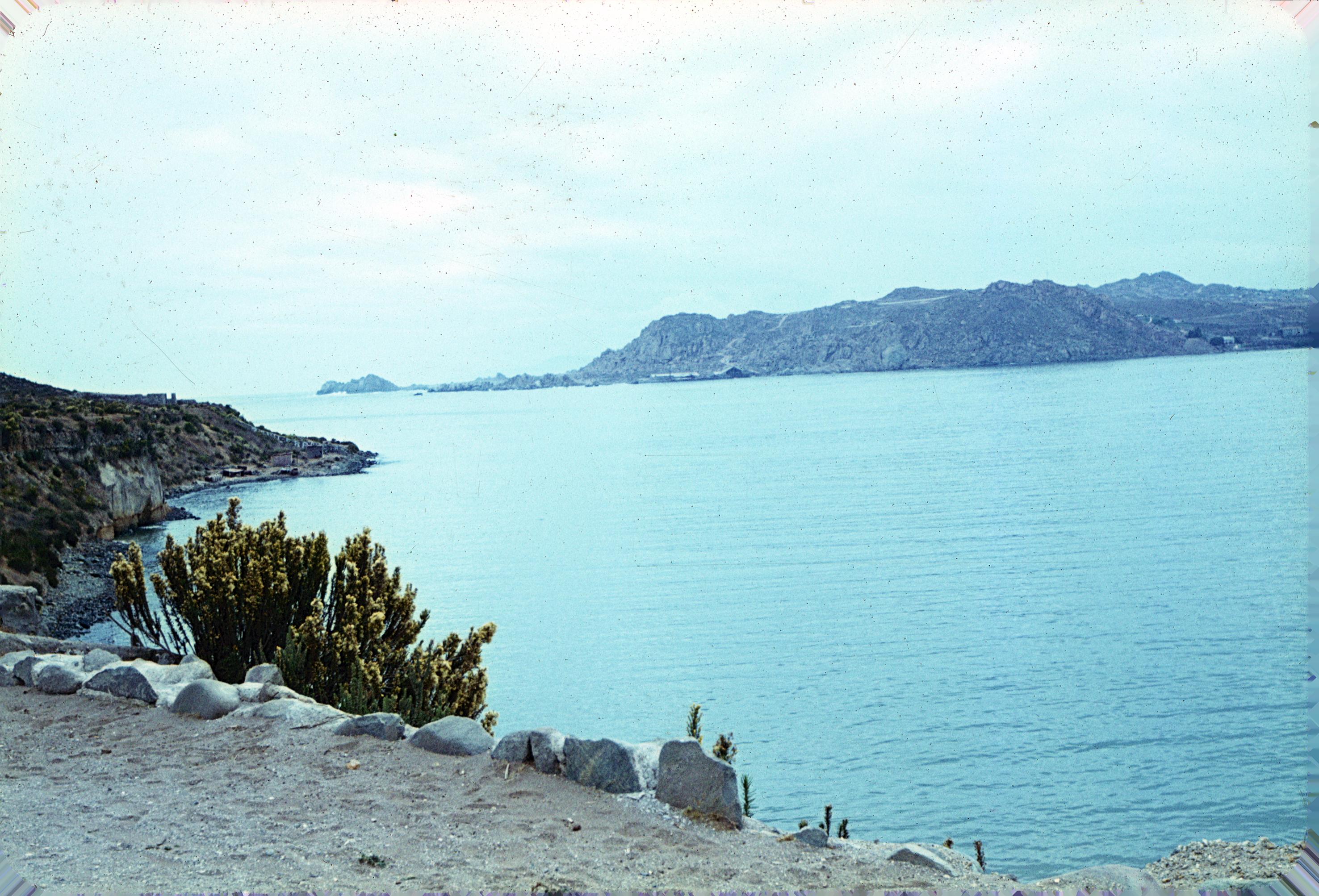 Enterreno - Fotos históricas de chile - fotos antiguas de Chile - Bahía de la Herradura en la década del 60