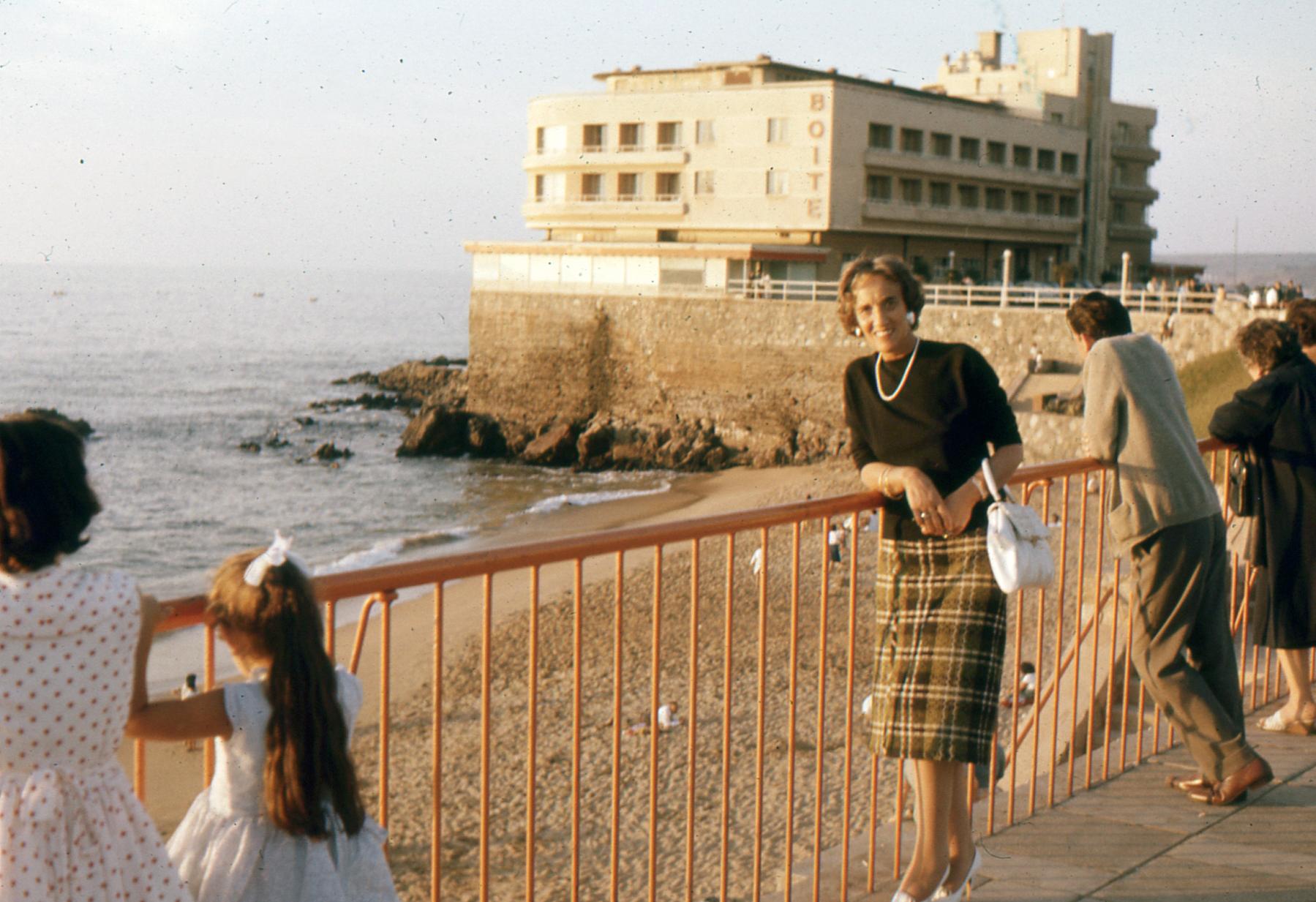 Enterreno - Fotos históricas de chile - fotos antiguas de Chile - Hotel Miramar de Viña del Mar en 1962