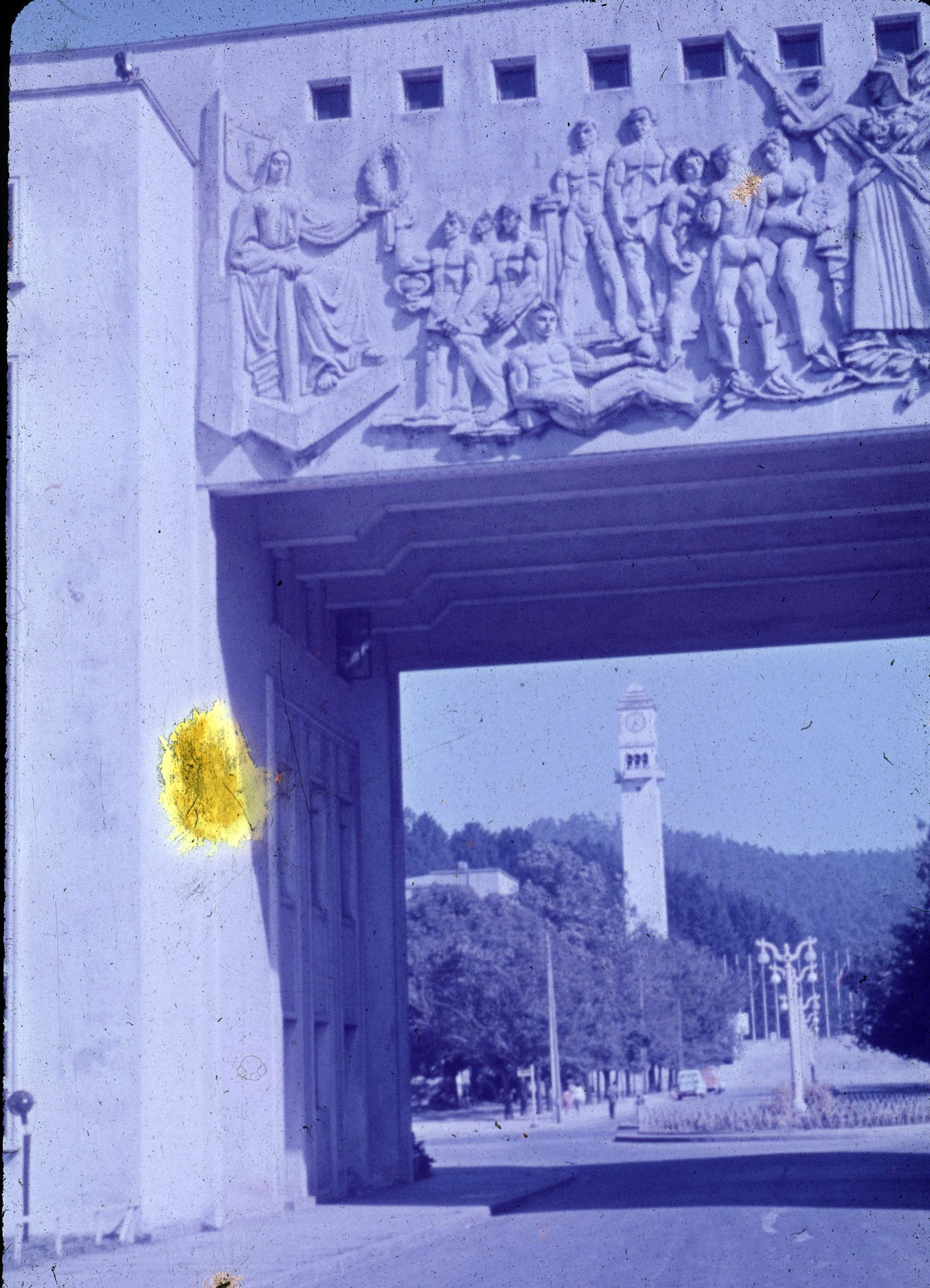 Enterreno - Fotos históricas de chile - fotos antiguas de Chile - Arco Universidad de Concepción