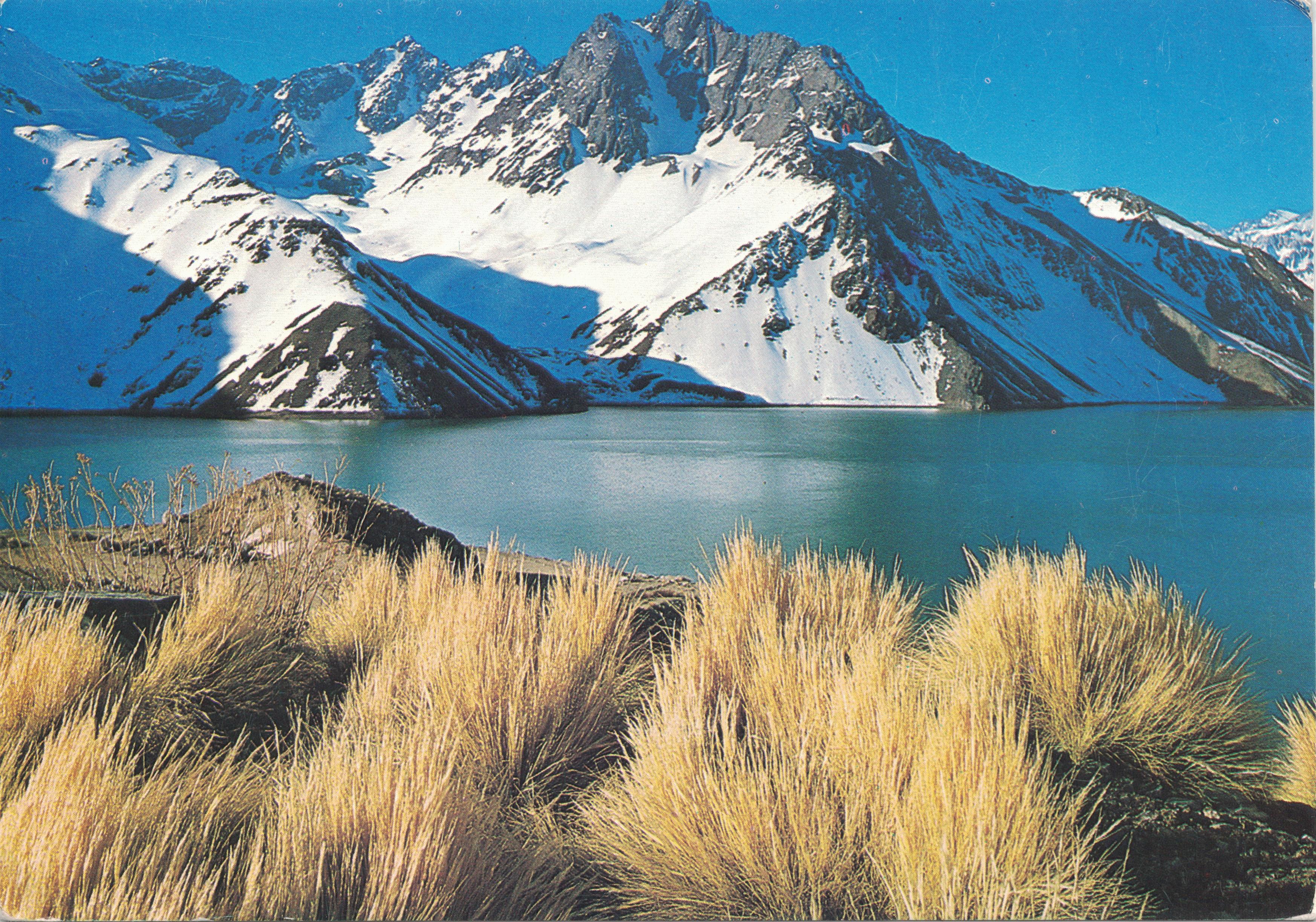Enterreno - Fotos históricas de chile - fotos antiguas de Chile - Embalse El Yeso en 1983
