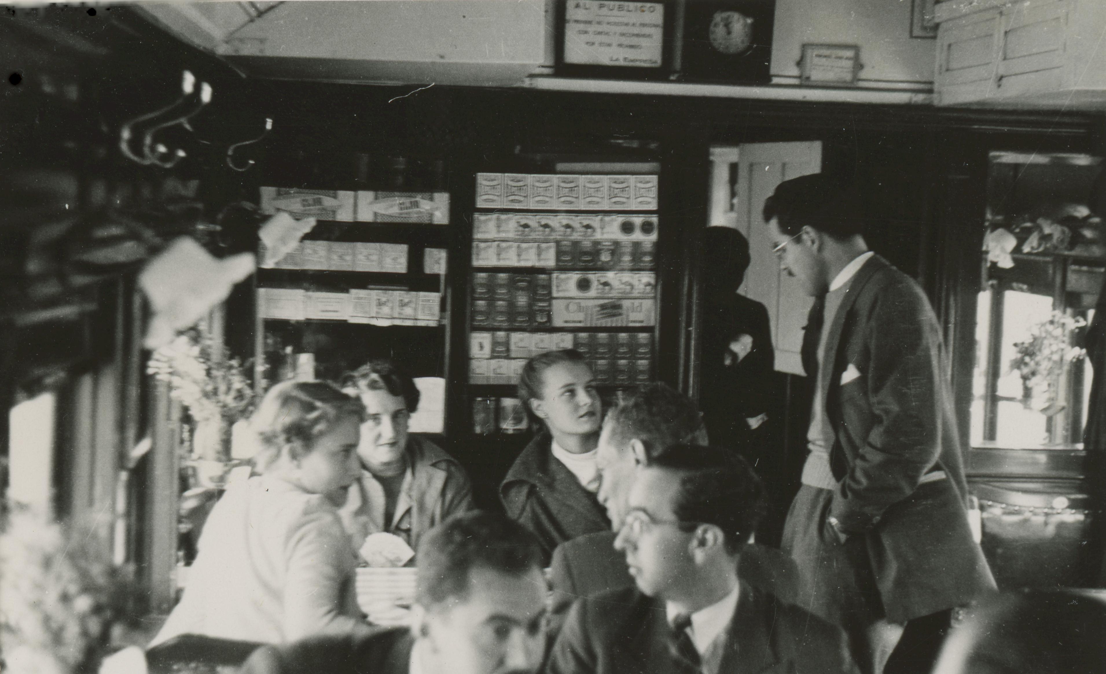 Enterreno - Fotos históricas de chile - fotos antiguas de Chile - Tren Trasandino, Antofagasta en 1950