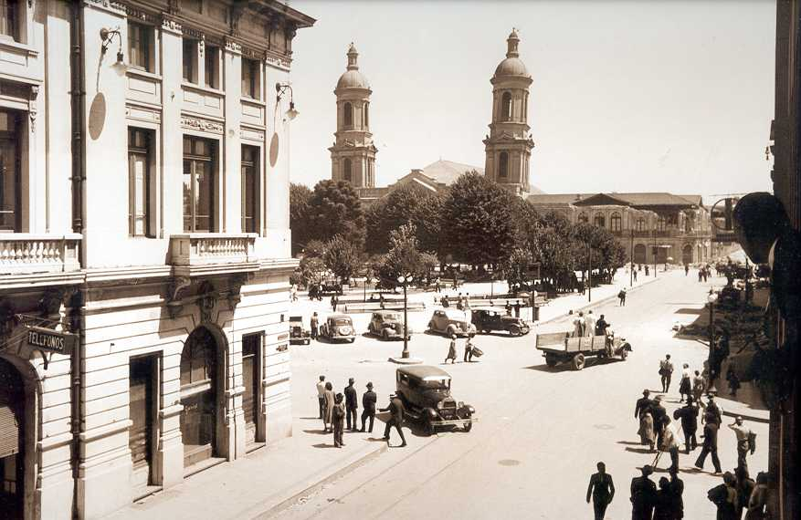 Enterreno - Fotos históricas de chile - fotos antiguas de Chile - Concepción en 1939