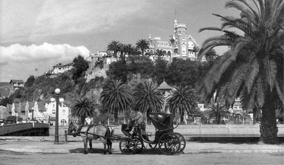 Enterreno - Fotos históricas de chile - fotos antiguas de Chile - Viña del Mar en 1956