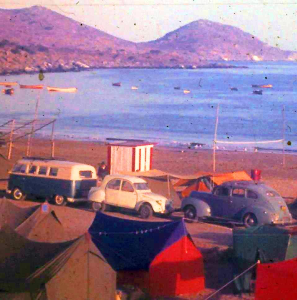 Enterreno - Fotos históricas de chile - fotos antiguas de Chile - Verano en Guanaqueros año 1972