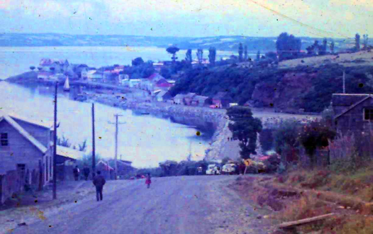 Enterreno - Fotos históricas de chile - fotos antiguas de Chile - Calbuco, año 1968