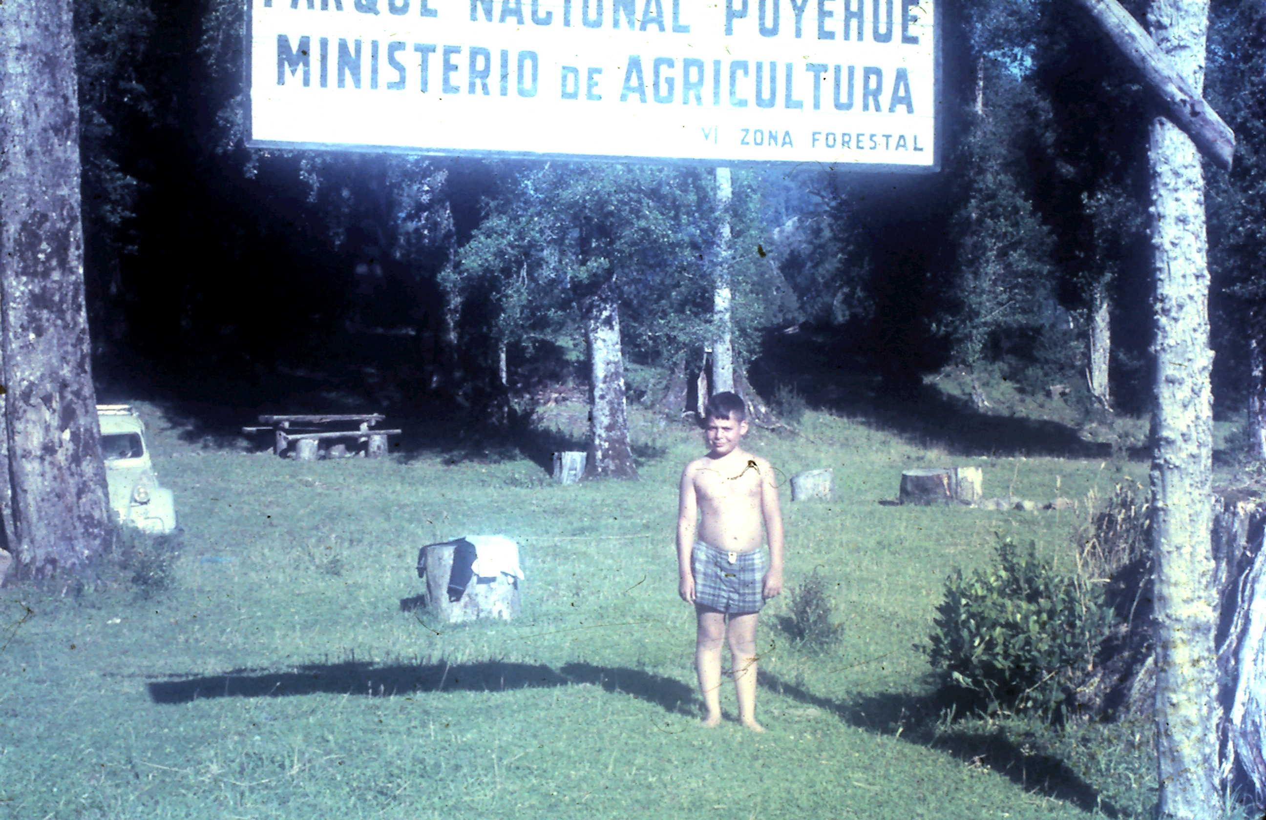 Enterreno - Fotos históricas de chile - fotos antiguas de Chile - Termas de Puyehue año 1968