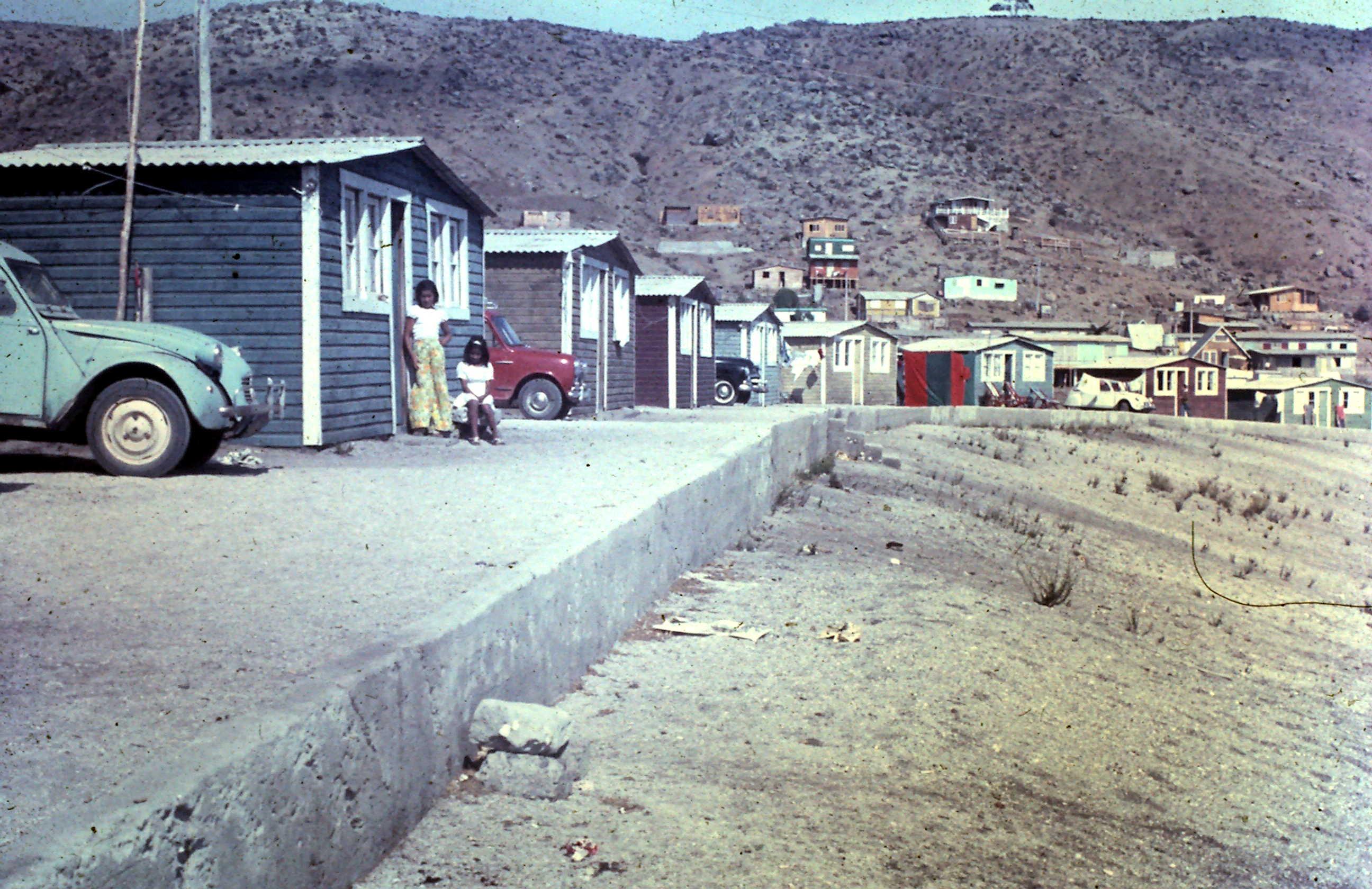 Enterreno - Fotos históricas de chile - fotos antiguas de Chile - Guanaqueros en 1972