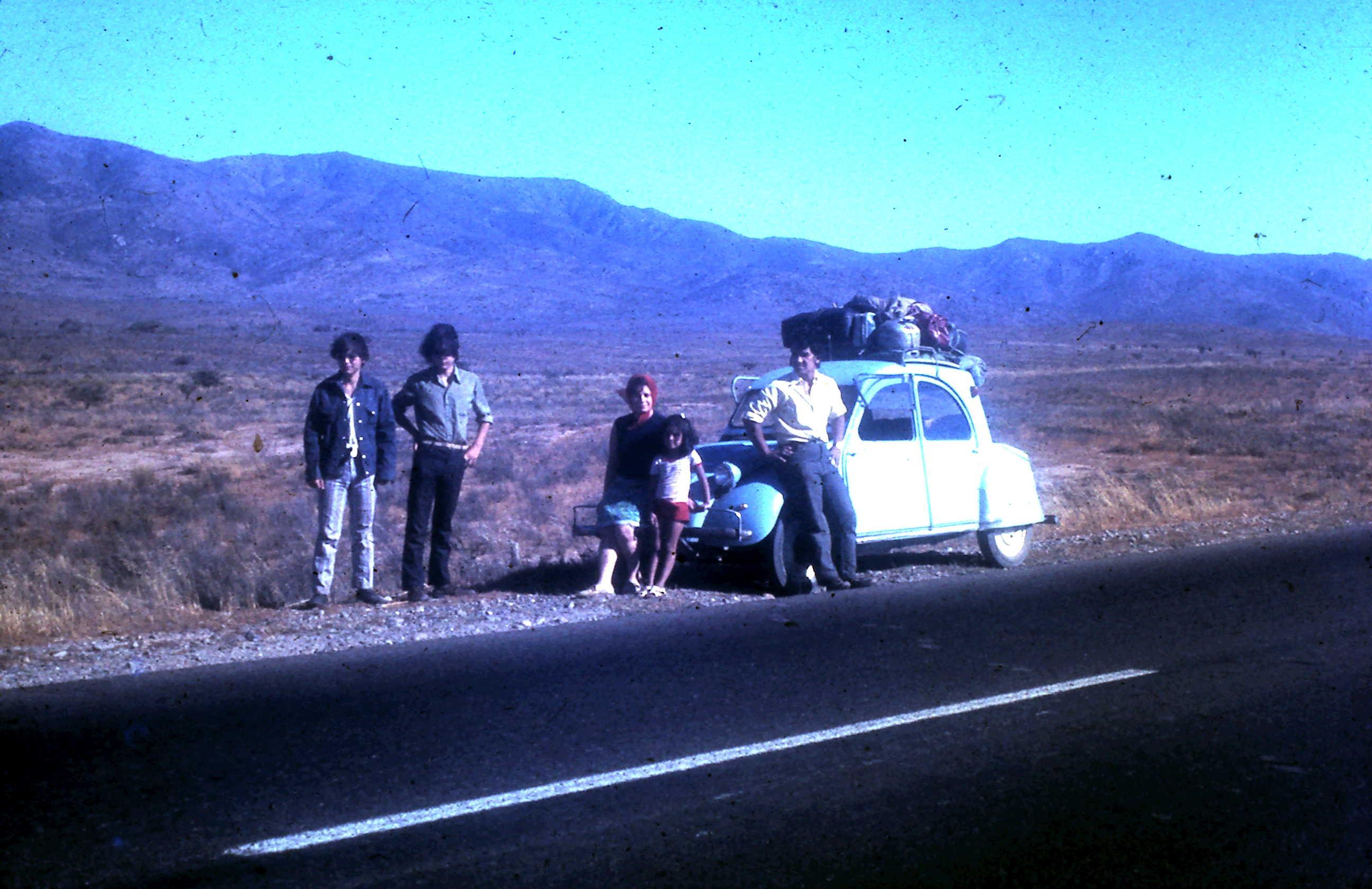 Enterreno - Fotos históricas de chile - fotos antiguas de Chile - Panamericana Norte en 1972