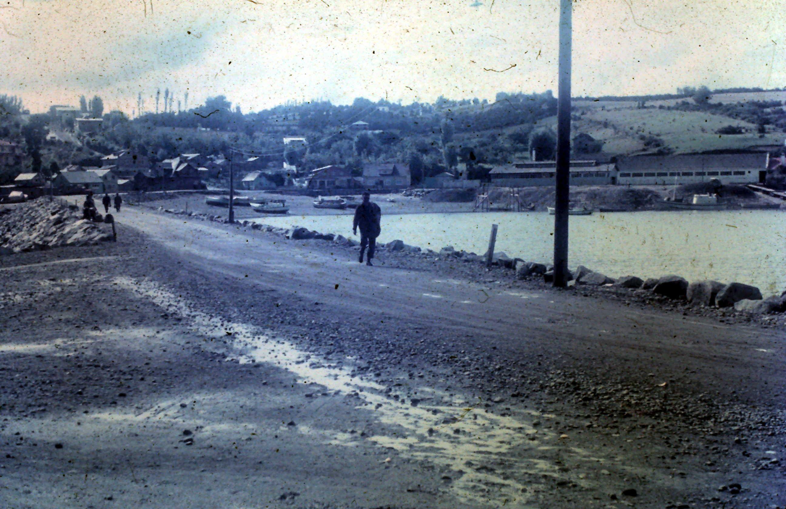 Enterreno - Fotos históricas de chile - fotos antiguas de Chile - Calbuco año 1968