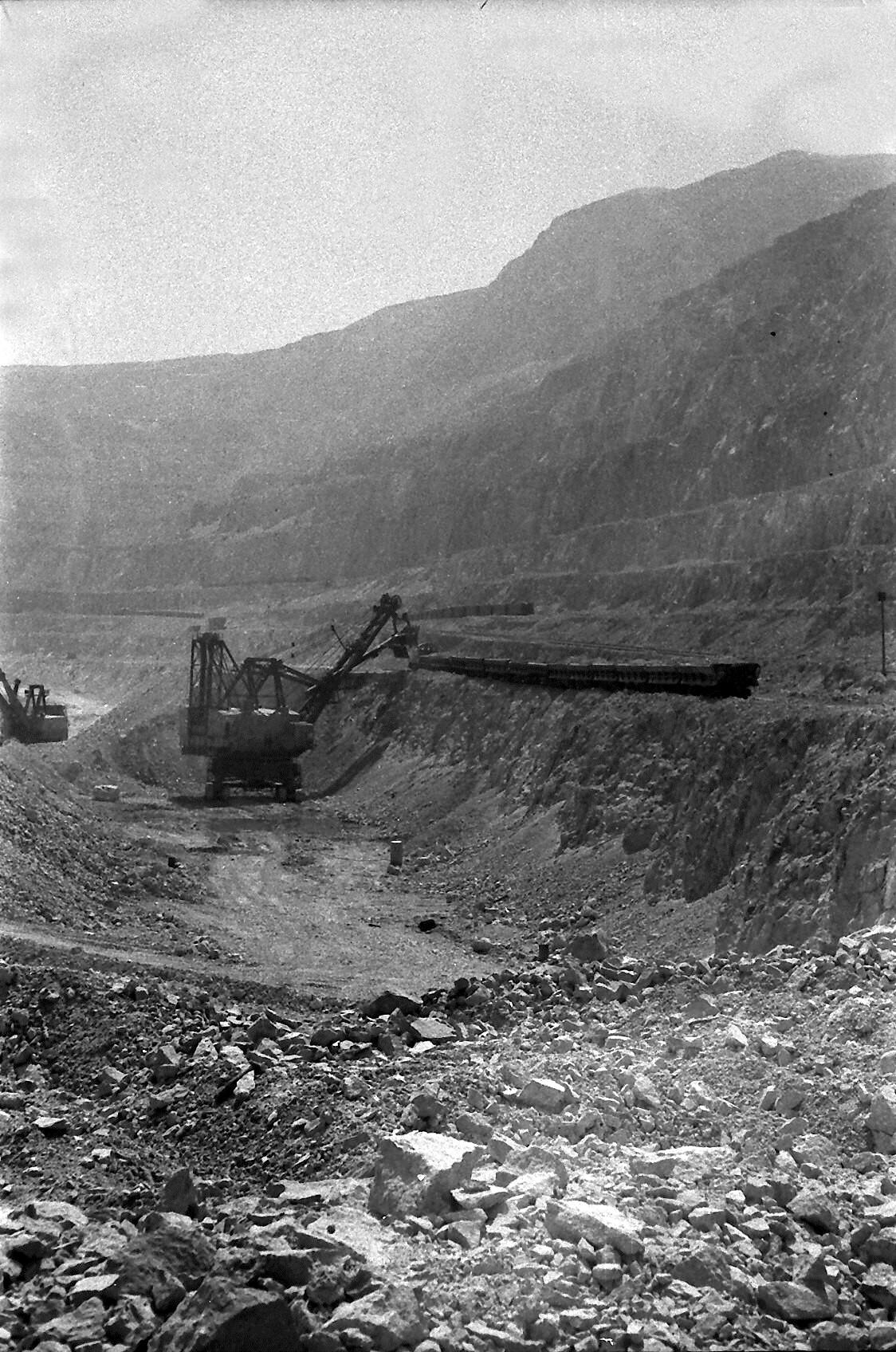 Enterreno - Fotos históricas de chile - fotos antiguas de Chile - Chuquicamata en 1968