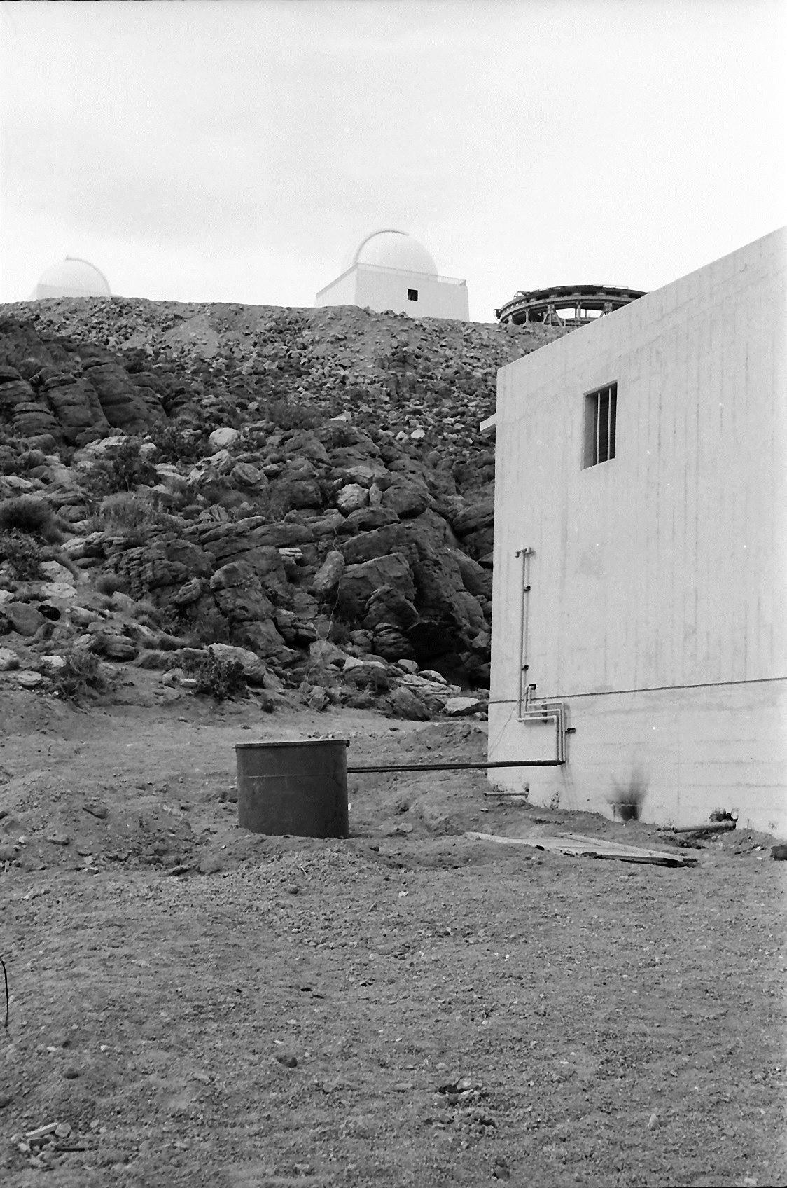 Enterreno - Fotos históricas de chile - fotos antiguas de Chile - Telescopios en cerro Tololo, 1969