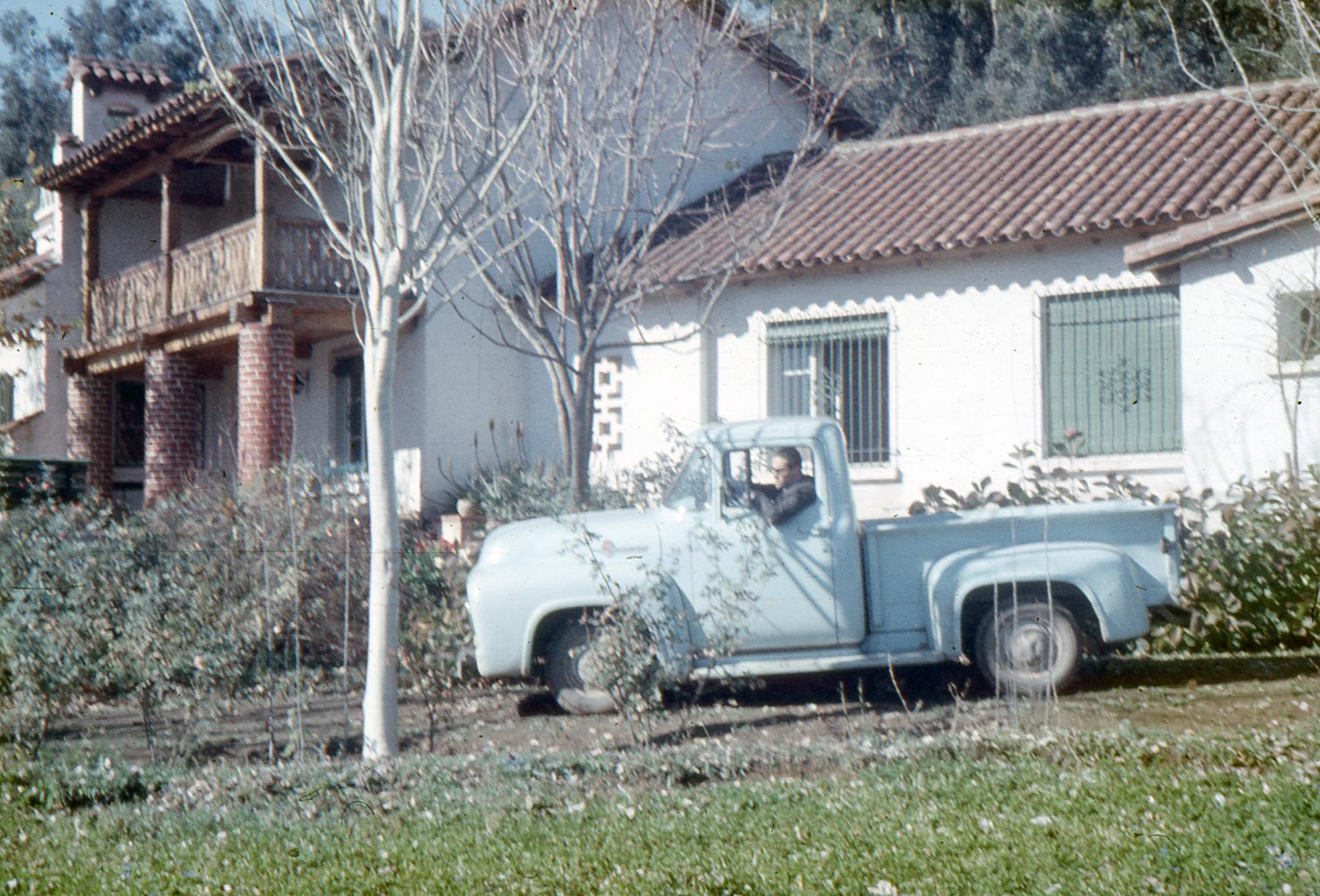 Enterreno - Fotos históricas de chile - fotos antiguas de Chile - Fundo la Punta 1957 - San Fco de Mostazal