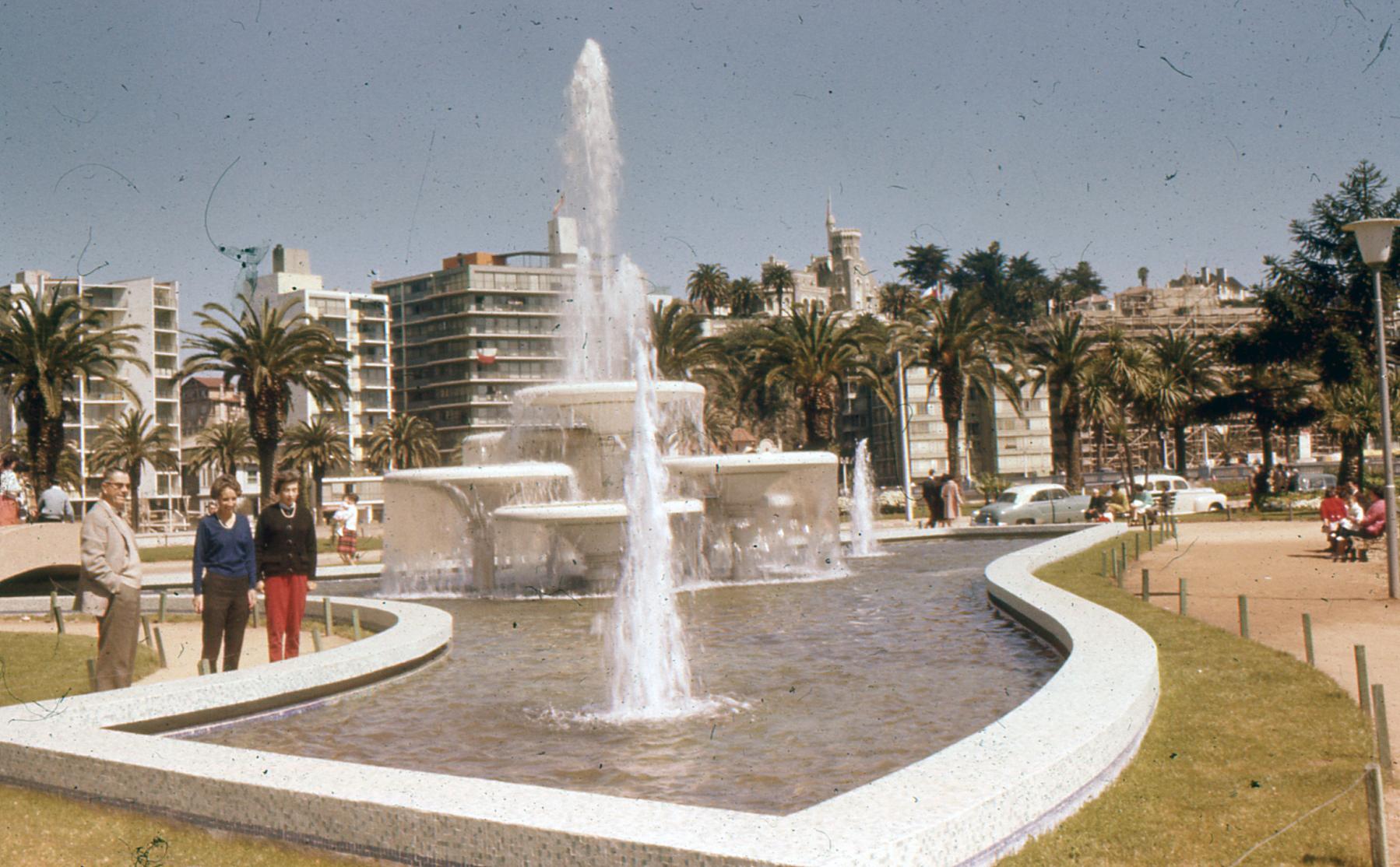 Enterreno - Fotos históricas de chile - fotos antiguas de Chile - Viña del Mar en 1961