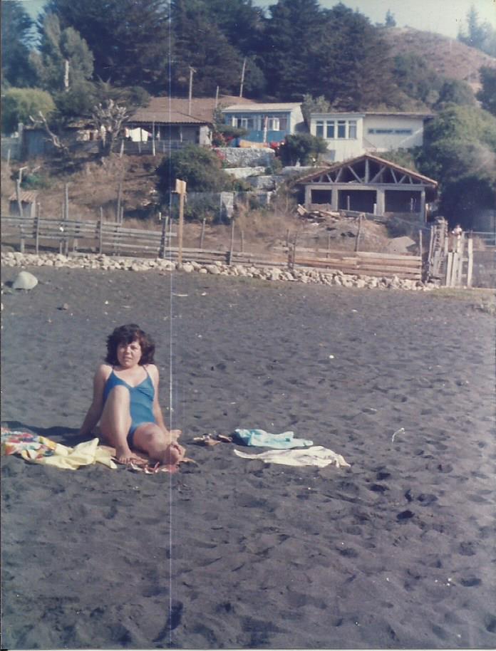Enterreno - Fotos históricas de chile - fotos antiguas de Chile - Playa Pelluhue en 1986