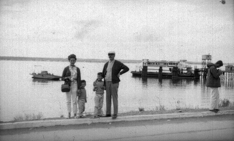 Enterreno - Fotos históricas de chile - fotos antiguas de Chile - Canal de Chacao en 1971
