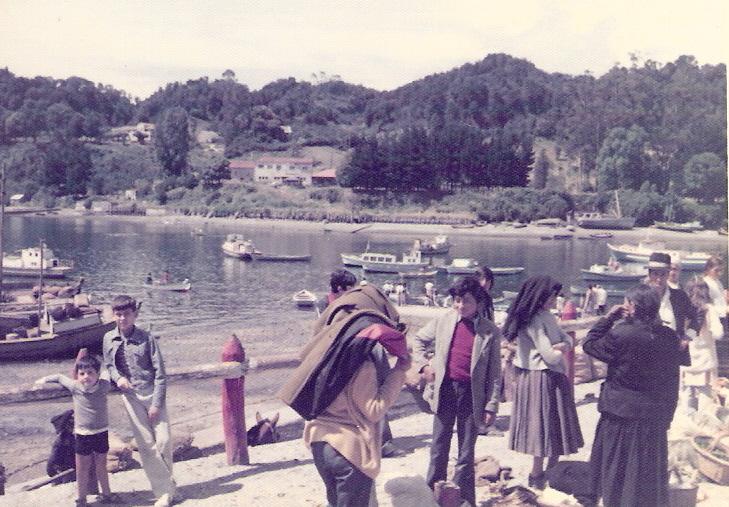 Enterreno - Fotos históricas de chile - fotos antiguas de Chile - Angelmó en 1976