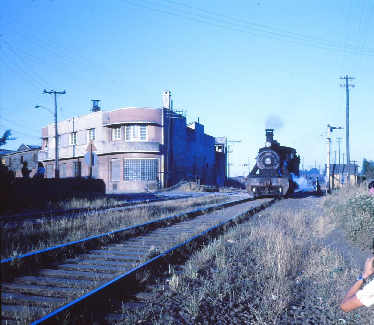 Enterreno - Fotos históricas de chile - fotos antiguas de Chile - Estación de Temuco en 1978