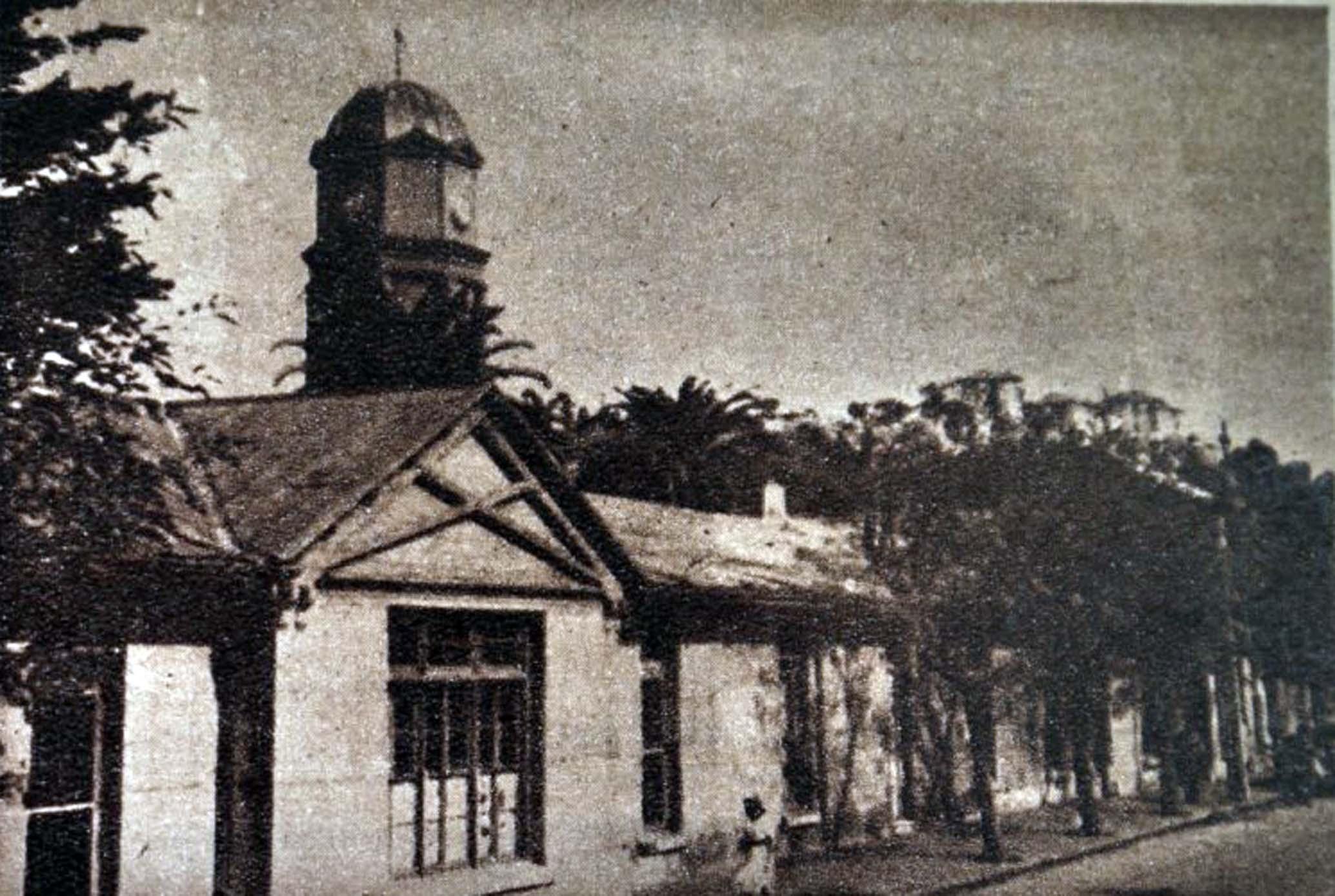 Enterreno - Fotos históricas de chile - fotos antiguas de Chile - Primer hospital de Viña del Mar, 1920