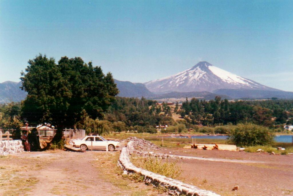Enterreno - Fotos históricas de chile - fotos antiguas de Chile - Verano en Villarrica en 1986