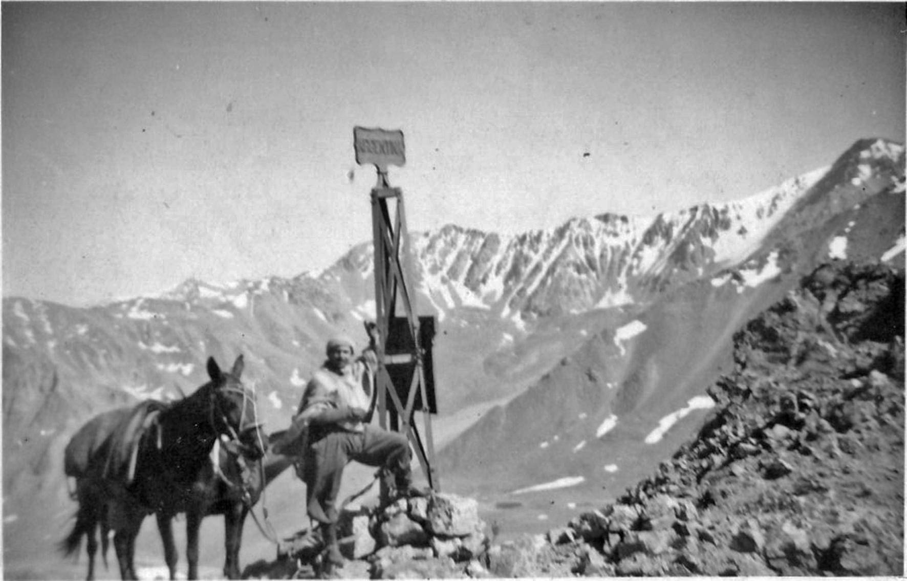 Enterreno - Fotos históricas de chile - fotos antiguas de Chile - Paso de Guana en 1943