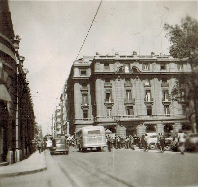Enterreno - Fotos históricas de chile - fotos antiguas de Chile - Portal Fernández Concha en 1945