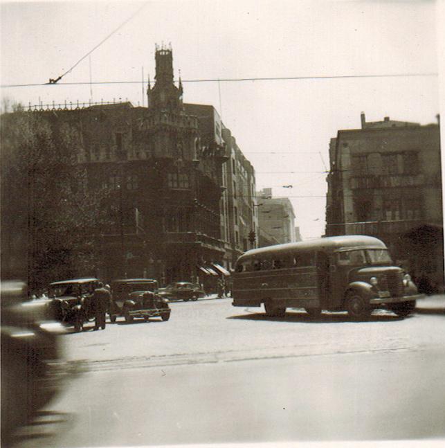 Enterreno - Fotos históricas de chile - fotos antiguas de Chile - Palacio Undurraga en 1945