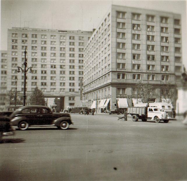 Enterreno - Fotos históricas de chile - fotos antiguas de Chile - Barrio Cívico de Santiago en 1945