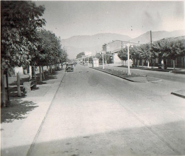 Enterreno - Fotos históricas de chile - fotos antiguas de Chile - San Fernando en 1945