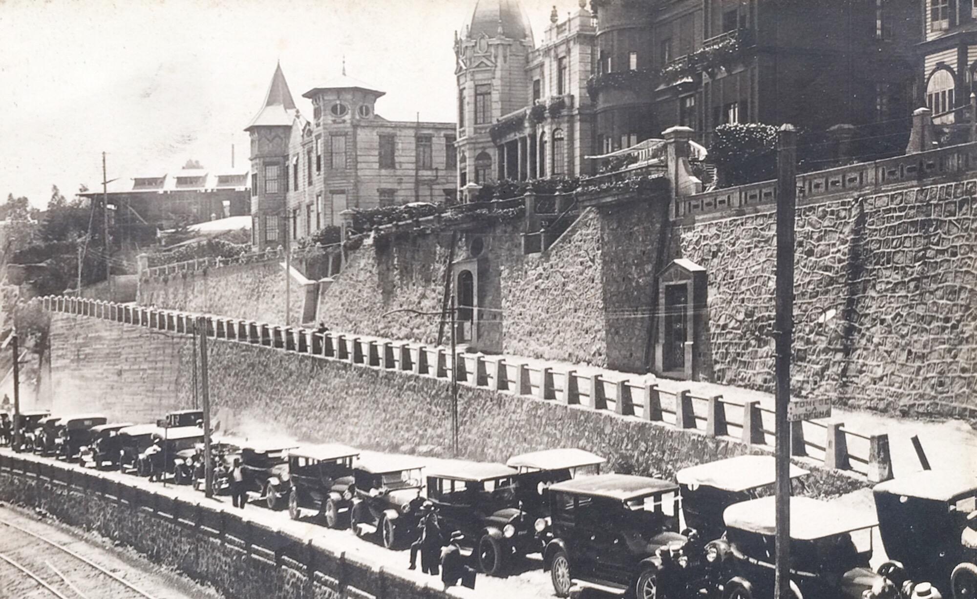 Enterreno - Fotos históricas de chile - fotos antiguas de Chile - Recreo en Viña del Mar en 1918