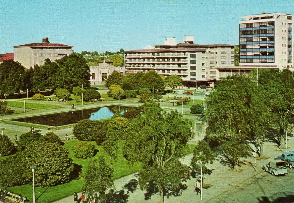 Enterreno - Fotos históricas de chile - fotos antiguas de Chile - Osorno, década del 70
