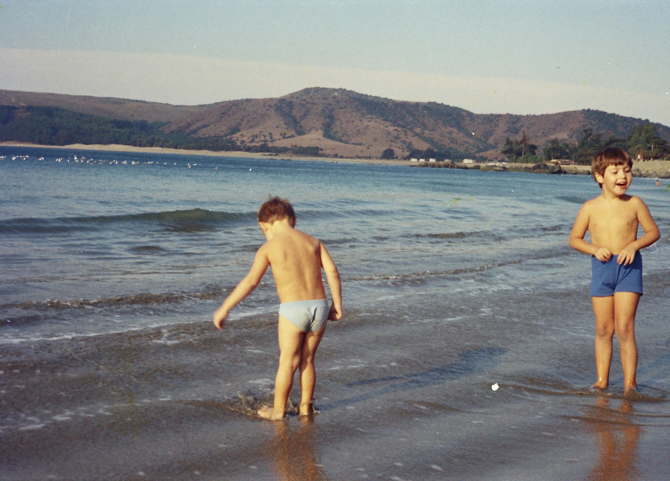 Enterreno - Fotos históricas de chile - fotos antiguas de Chile - Verano en Papudo en 1979