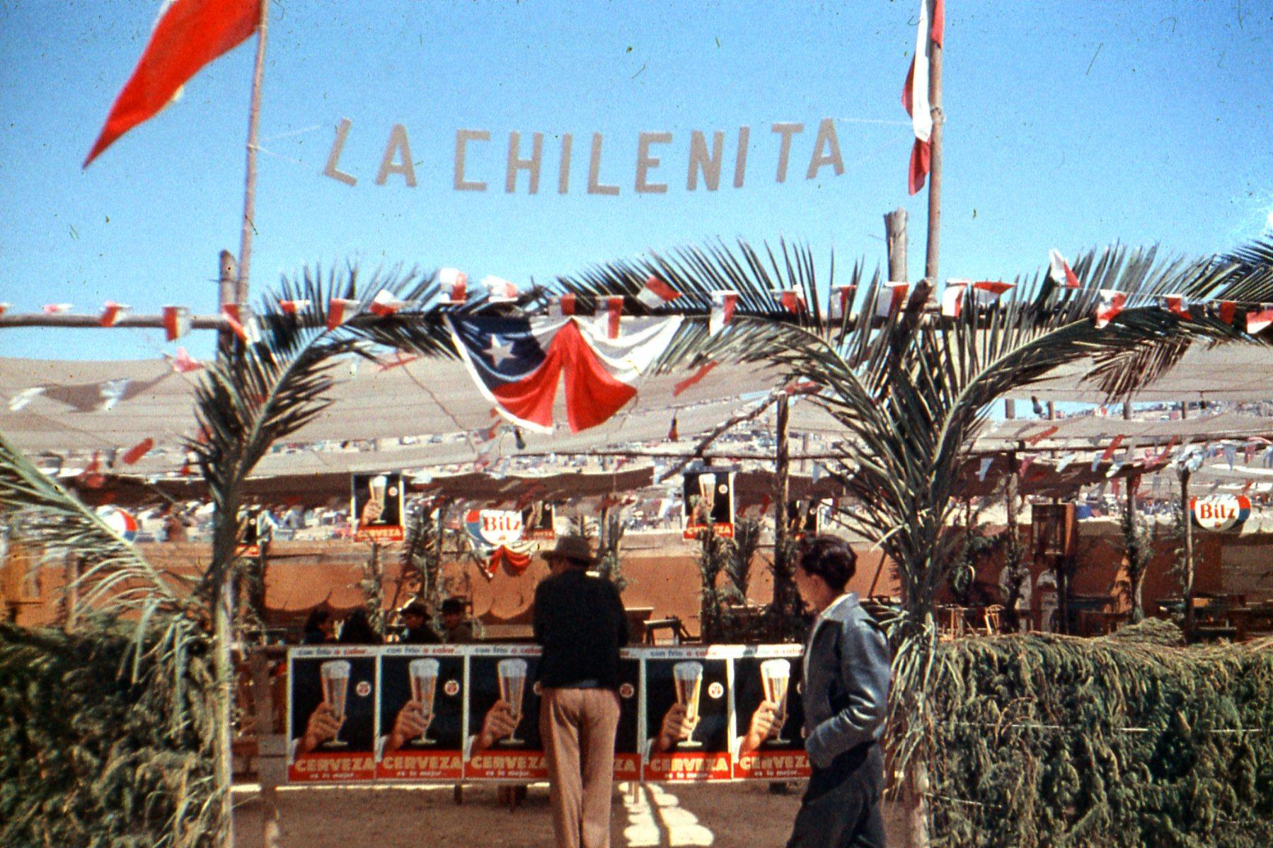 Enterreno - Fotos históricas de chile - fotos antiguas de Chile - La Pampilla en 1962