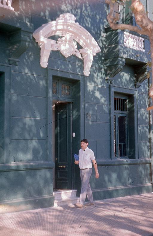 Enterreno - Fotos históricas de chile - fotos antiguas de Chile - casa del Barrio Bellavista en 1989