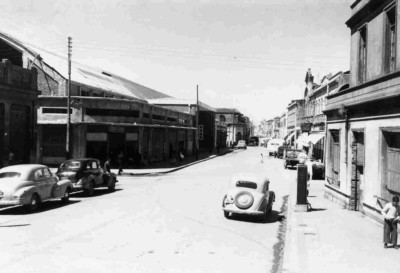 Enterreno - Fotos históricas de chile - fotos antiguas de Chile -  Talcahuano en 1945