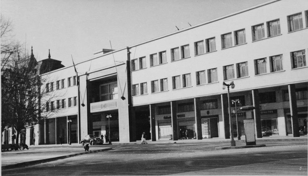 Enterreno - Fotos históricas de chile - fotos antiguas de Chile - Ex intendencia del Biobío, Concepción en 1960