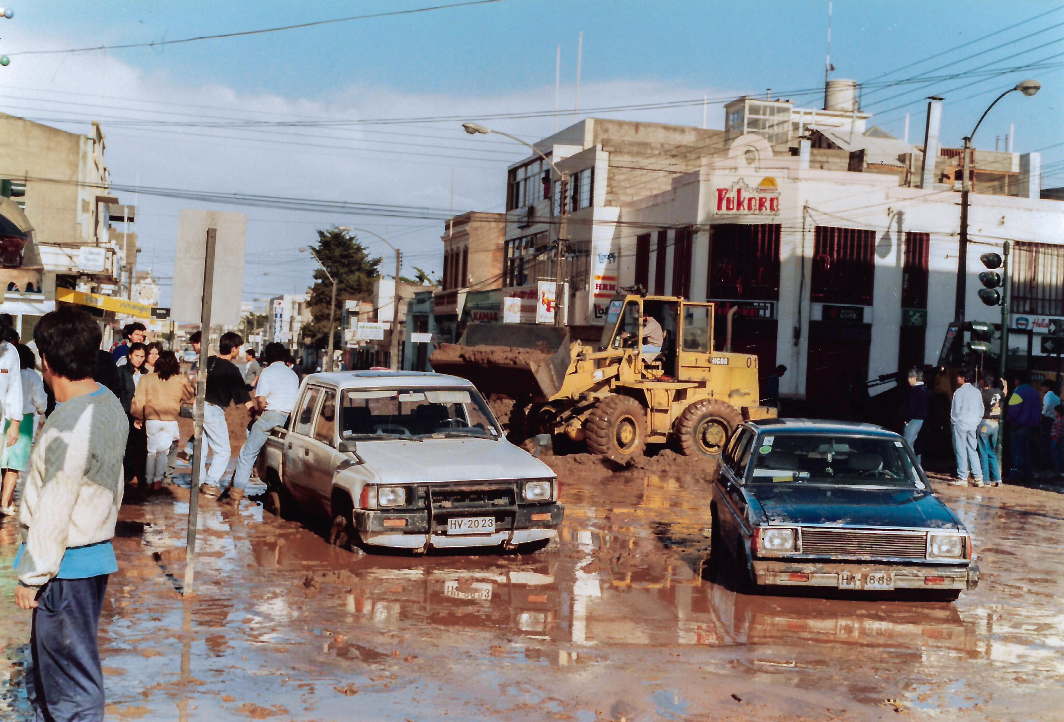 Enterreno - Fotos históricas de chile - fotos antiguas de Chile - Aluvión de junio de 1991 en Antofagasta
