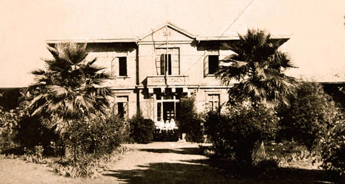 Enterreno - Fotos históricas de chile - fotos antiguas de Chile - Hospital de Chimbarongo ca. 1940