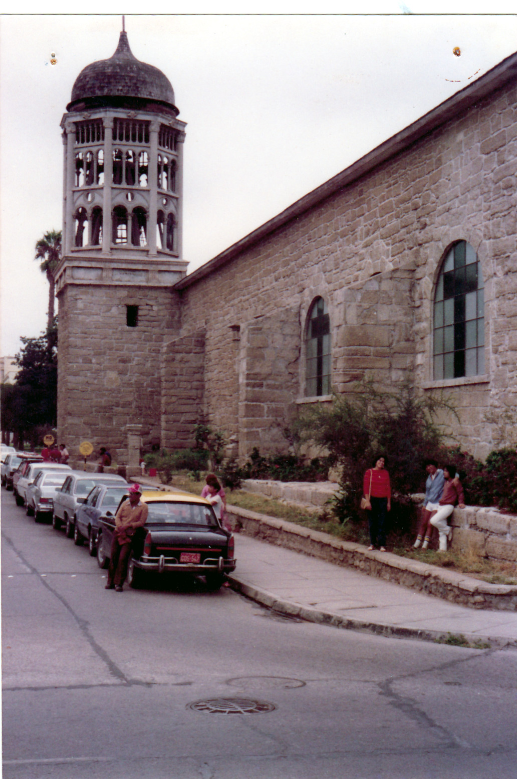Enterreno - Fotos históricas de chile - fotos antiguas de Chile - Iglesia Santo Domingo de La Serena en 1982
