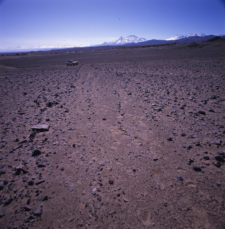 Enterreno - Fotos históricas de chile - fotos antiguas de Chile - Camino del Inca en el desierto de Atacama, 1990